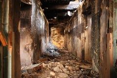 Casa rovinata vecchia Immagine Stock