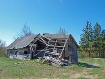 Casa ruinosa Fotografía de archivo libre de regalías