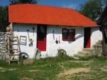 Casa rumana específica fotografía de archivo