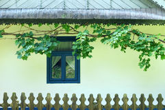 Casa rumena Immagine Stock