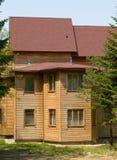 Casa rural de madeira Fotos de Stock