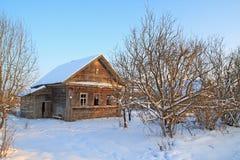 Casa rural vieja imagen de archivo