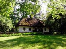 Casa rural vieja en Kaniv Fotos de archivo