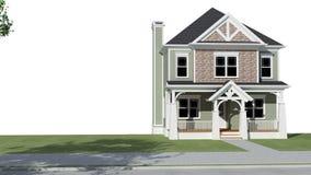 Casa rurale illustrazione di stock