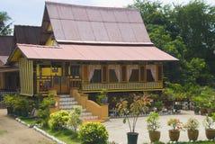 casa rurale del malay Immagini Stock Libere da Diritti