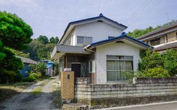 Casa rurale a Matsushima, Giappone immagini stock libere da diritti