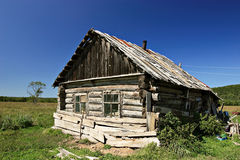 Casa russian velha Foto de Stock