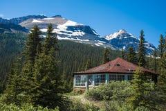 Casa rustica della montagna Immagini Stock Libere da Diritti