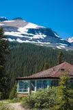Casa rustica della montagna Fotografie Stock