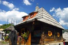 Casa sérvio tradicional Fotografia de Stock Royalty Free
