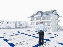 Casa sênior Imagem de Stock