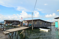 Casa in Sabah Immagini Stock Libere da Diritti