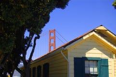 Casa a San Francisco Fotografia Stock