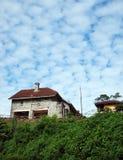 Casa scenica della collina del Fraser, Malesia Fotografia Stock