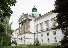 Casa señorial de Topolcianky Fotografía de archivo libre de regalías