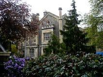Casa señorial en York Foto de archivo libre de regalías
