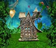Casa secreta dos duendes Foto de Stock