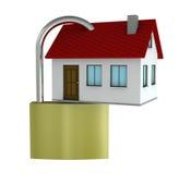 Casa segura libre illustration