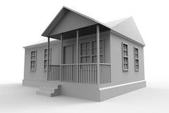 Casa semplice di stile Fotografia Stock
