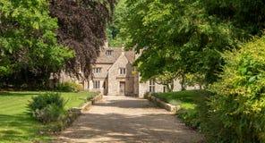 Casa senhorial do século XVI de Horton Court, Horton, Reino Unido fotografia de stock