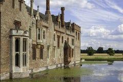 Casa senhorial Moated inglesa Imagem de Stock Royalty Free