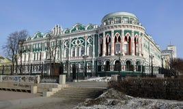 Casa Sevastyanova Foto de archivo libre de regalías