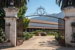 Casa Silva wytwórnia win Zdjęcia Stock