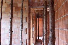Casa sob a construção Fotografia de Stock Royalty Free