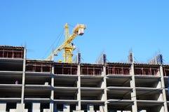 Casa sob a construção! Foto de Stock