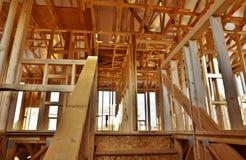 Casa sob a construção (grande arquivo) Fotografia de Stock Royalty Free