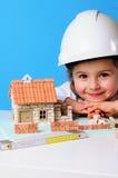 Casa sob a construção Imagens de Stock