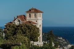 Casa sobre o mar Imagem de Stock Royalty Free