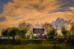 Casa sola Foto de archivo