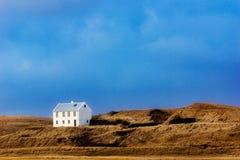 Casa sola Fotografía de archivo libre de regalías
