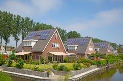 Casa solar Fotos de Stock