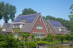 Casa solar Fotos de Stock Royalty Free