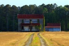 Casa solitaria Fotografía de archivo libre de regalías