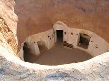 Casa sotterranea di Matmata Fotografie Stock Libere da Diritti