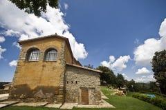 Casa spagnola in Catalogna Immagine Stock