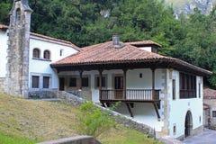 Casa spagnola tipica in Asturie Immagine Stock Libera da Diritti