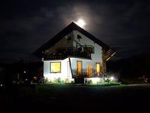 Casa spettrale immagini stock libere da diritti
