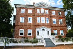 Casa storica a Annapolis Fotografia Stock