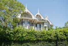Casa storica del distretto del giardino di New Orleans, Luisiana fotografia stock