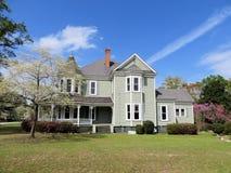 Casa storica 3 del paese fotografie stock