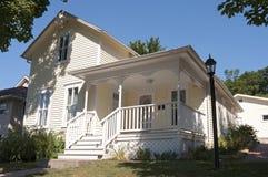 Casa storica dell'autore locale in Mankato Immagine Stock