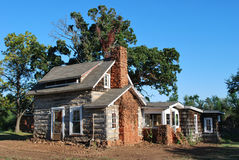 Casa storica dell'Oklahoma immagini stock