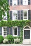 Casa storica a Philadelphia, Pensilvania fotografie stock libere da diritti
