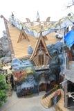 Casa stravagante in Lat del Da, Vietnam Immagine Stock Libera da Diritti