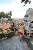 Casa stravagante in Lat del Da, Vietnam Fotografie Stock Libere da Diritti