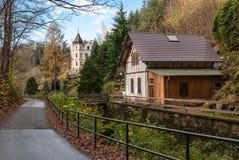 Casa, Suíça saxão Fotografia de Stock Royalty Free
